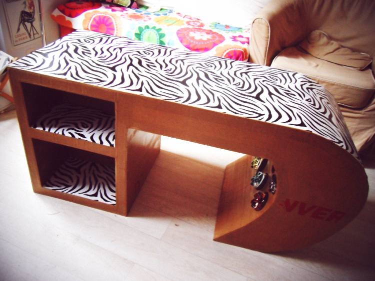table basse zebre